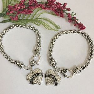 Jewelry - Mother of the bride and groom bracelets